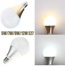 E27 5W 7W 9W 12W SMD LED Globe Bulb Ball Light Lamp Warm Cool White Home Office