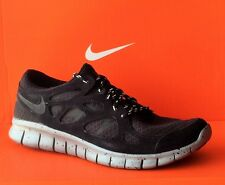 NIKE FREE RUN 2-Mens Running New Shoes-Black/Gray-537732 001