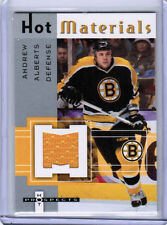 05/06 HOT PROSPECTS HOCKEY HOT MATERIALS JERSEY CARDS (HH-XX) U-Pick From List