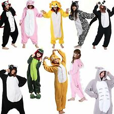 HOT SALE NEW Unisex Adult Animal Onesies Kigurumi Pyjamas Sleepsuit Costume Suit