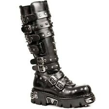 NEW ROCK Newrock Unisex Punk Boots Style M.796 S1 Black Reactor