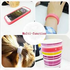 Practical Stretch Mobile Phone Ring Case Cover Bracelet Cup Sleeve Hairband Y2