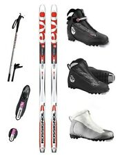 NEW ROSSIGNOL Evo Action Jr NNN CROSS COUNTRY SKIS/BINDINGS/BOOTS/POLES - 140cm