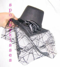 Elope Little goth gothic Victorian top hat Black Tea Party tiny small steam punk