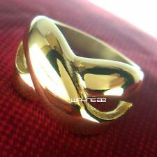 Jewelry Size 8-9  18KT Gold Filled Engagement Wedding Ring r252