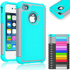 Hybrid Rugged Rubber Matte Hard Case Cover Skin for Apple iPhone 4 / iPhone 4s