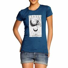 Twisted Envy Women's Black Forest 100% Organic Cotton T-Shirt