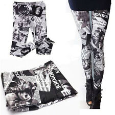 Fashion Lady's New Stylish Punk Sexy Stretchy Skinny Leggings Tight Pencil Pants