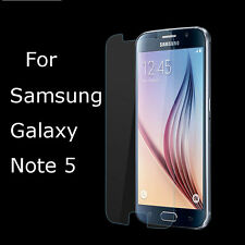 Clear HD Anti-Scratch Screen Protector Film For Samsung Galaxy Note 5 N9200 Lot