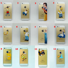 Cover iphone 4 4s 5 5c 5s 6 simpson alice biancaneve rapunzel spongebob