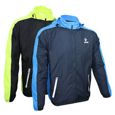 Mens Water Resistant Anti-UV Quick Dry Outdoor Cycling Biking Jacket Rain Coat
