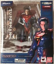S.H. Figuarts Superman Injustice Ver Gods Among Us Action Figure Bandai 96311