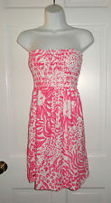 NWT LILLY PULITZER RESORT WHITE GET SPOTTED  BRIGITTE DRESS M