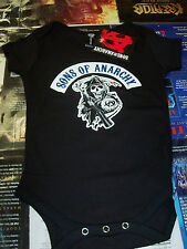 SONS OF ANARCHY REAPER BABY ONESIE NEW !
