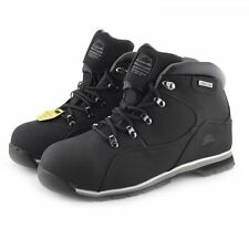 MENS WORK BOOTS SAFETY HIKING WORK STEEL TOE CAP ANKLE BOOTS NEW 7-11