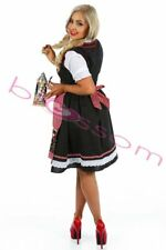 K87 Ladies Oktoberfest Beer Maid Costume Bavarian German Dirdnl Leiderhosen
