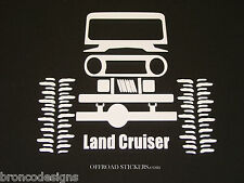 Toyota Land Cruiser FJ40 80 Crawler_ Sticker/Decal -13