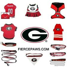 Georgia Bulldogs NCAA Football Dog Pets First Licensed Team Costume Gear Apparel
