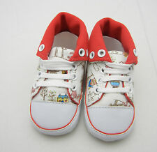 Little pig white high top girl shoes toddler shoes baby girl shoes UK size3