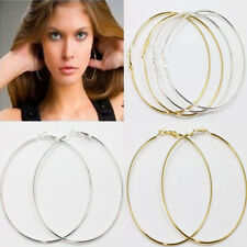 Hot 20Pcs Gold/Silver Jewelry Circle Basketball Wives Ear Hoop Ear Stud Earrings