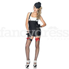 Leg Avenue Sexy Gangster Girl Costume Adult 20s Moll Ladies Fancy Dress Costume