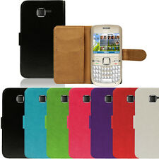 Flip Pu Leather Flip Case Wallet Cover For The Nokia C3-00