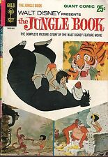 Walt Disney Presents The Jungle Book No.1 1966 Gold Key