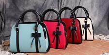 Women Lady Leather retro cute Messenger Handbag Shoulder Bag Totes Purse