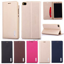 Genuine Magnetic Flip Wallet Leather Stand Case Cover For Huawei Ascend Honor 7