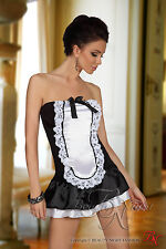 Sexy Maid Women's Costume Bandeau Dress Housemaid Maid Cleaning Lady