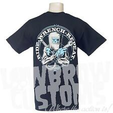 Lowbrow Customs Ride Wrench Repeat Chopper T-Shirt