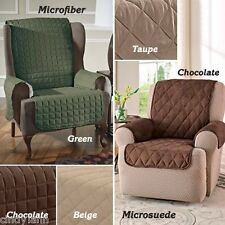 ITS WING CHAIR RECLINER PET DOG KIDS SLIP COVER PROTECTOR - CHOOSE COLOR FABRIC