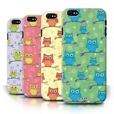 STUFF4 Back Case/Cover/Skin for Apple iPhone 6S/Cute Owl Pattern
