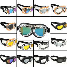 Aviator Pilot Cruiser Motorcycle Bicycle Scooter ATV Goggles Eyewear Frame Lens