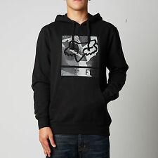 Fox Racing Grisler Pullover Fleece Hoody Black