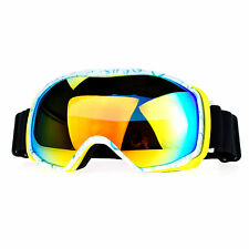 Snowboard Ski Goggles Sports Goggle Color Mirror Antifog Double Lens