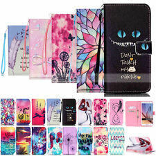 Painted Wallet Leather Case Cover For Samsung Galaxy S6 Edge S5 S4 S3 G360 Note