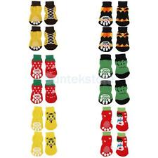 Various Pet Dog Puppy Cotton Socks Paws Covers Protector Nonslip Slippers S-XL