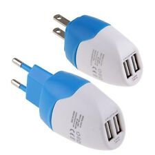 2A EU/US Plug USB AC Wall Charger Travel Power Adapter for iPhone iPod Samsung