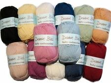 Debbie Bliss Baby Cashmerino Hand Knitting Yarn - 50g Various Shades