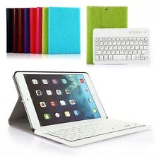 Removable Bluetooth Keyboard For iPad  2/3/4 iPad mini1/2/3 iPad air Case Cover