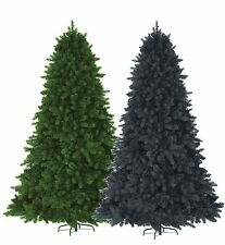 5/6/7ft Deluxe Indoor Colorado Spruce Artificial Pine Christmas Tree Metal Stand