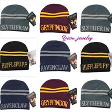 1xHarry Potter Hufflepuff Slytherin Gryffindor Ravenclaw Cosplay Costume Hat Cap