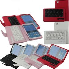Removable Detached Bluetooth Keyboard Stand Cover Case For Samsung Galaxy Tab 4