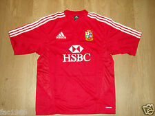British and Irish Lions South Africa Tour 2009 Red Rugby Shirt Jersey HSBC New
