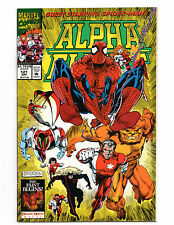 Alpha Flight #121 VG+ June 1993 Marvel Comics guest starring Spider-man!