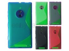 Soft TPU Rubber Case Cover for Nokia Lumia 830 + Screen Protector