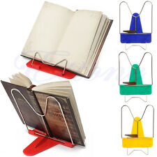 Adjustable Foldable Portable Reading Book Stand iPad Document Learning Holder