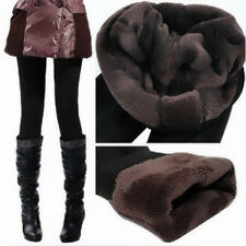 Women Thick Hot Warm Fleece Lined Fur Winter Tight Pencil Leggings Sexy Pants Q