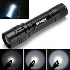 3000 Lumen Zoomable CREE XML T6 LED Flashlight Torch Zoom Lamp Light Powerful UK